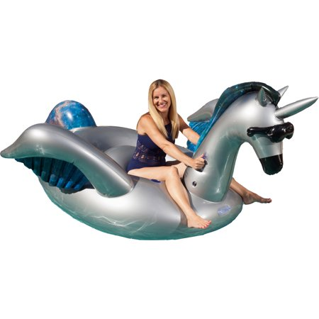 Giant Inflatable T Rex (GAME Giant Inflatable Ride-On Mystique Alicorn Unicorn Pool Float w/ Cup)