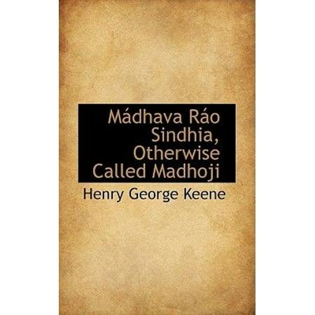 M Dhava R O Sindhia, Otherwise Called Madhoji - image 1 de 1