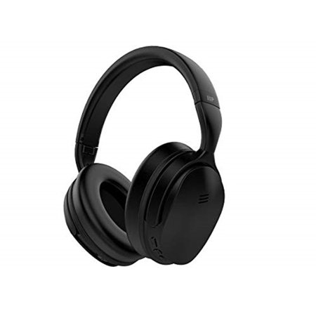 Monoprice BT-300ANC Wireless Over Ear Headphones - Black With (ANC) Active Noise Cancelling, Bluetooth, Extended