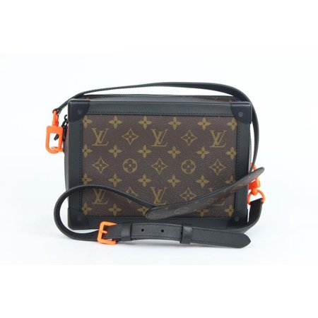 05d0539f850f (Ultra Rare) Runway Virgil Abloh Ss19 Monogram Soft Trunk 5lz1023 Brown  Coated Canvas Cross Body Bag - Walmart.com