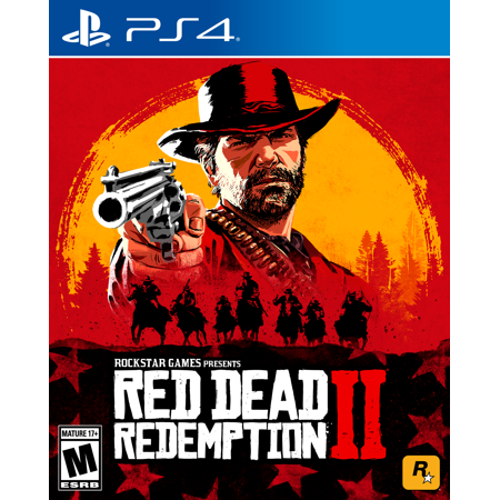 Red Dead Redemption 2, Rockstar Games, PlayStation (Red Dead Redemption Best Pistol)