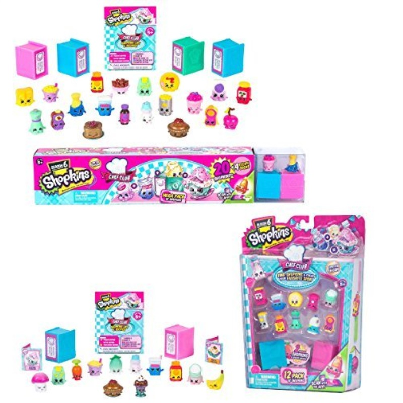 Shopkins Season 6 Chef Club Bundle of 2: Mega Pack 12Pack of Shopkins Characters May Vary