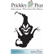 Prickley Pear Cling Stamps 2 Inch X 1.75 Inch-Ghoulish Goast