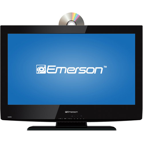 "Emerson 26"" Class LCD 720p 60Hz HDTV and DVD Player, LD260EM2"