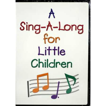 A Sing-A-Long For Little Children NEW DVD Christian Songs Action Music Video