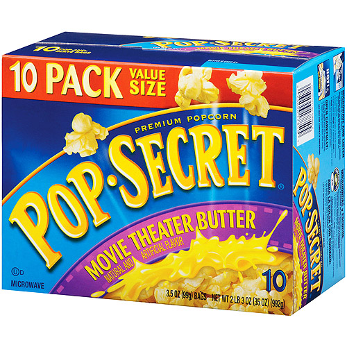 Pop Secret Movie Theatre Butter Popcorn, 10 ct