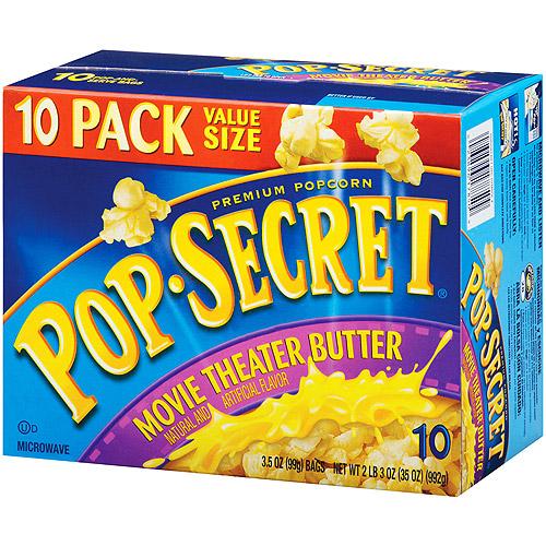 Pop Secret Movie Theatre Butter Popcorn, 10 ct