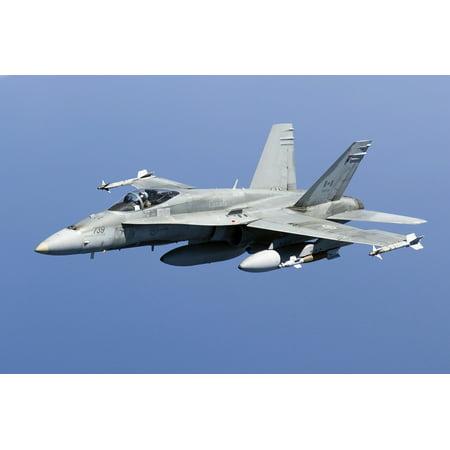 A Cf 188A Hornet Of The Royal Canadian Air Force Canvas Art   Gert Kromhoutstocktrek Images  18 X 12