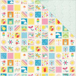 I Love Sunshine Double Sided Cardstock 12 X12  Summer Memories