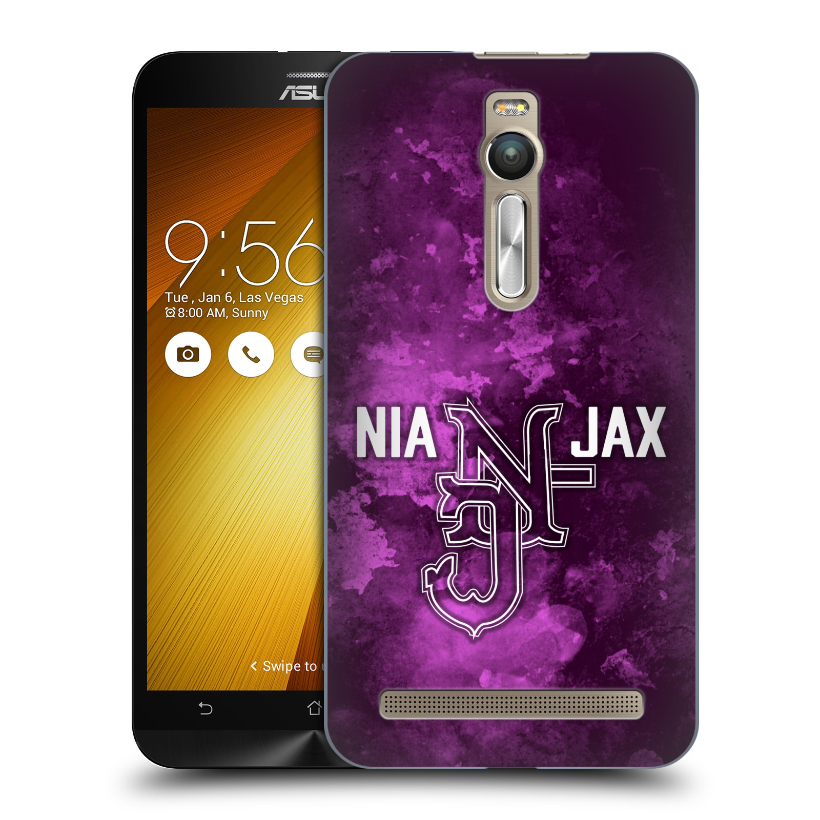 OFFICIAL WWE NIA JAX HARD BACK CASE FOR ASUS ZENFONE PHONES