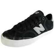 New Balance Men 'Pro Court' Sneaker Shoe, Silver/Black, US 4