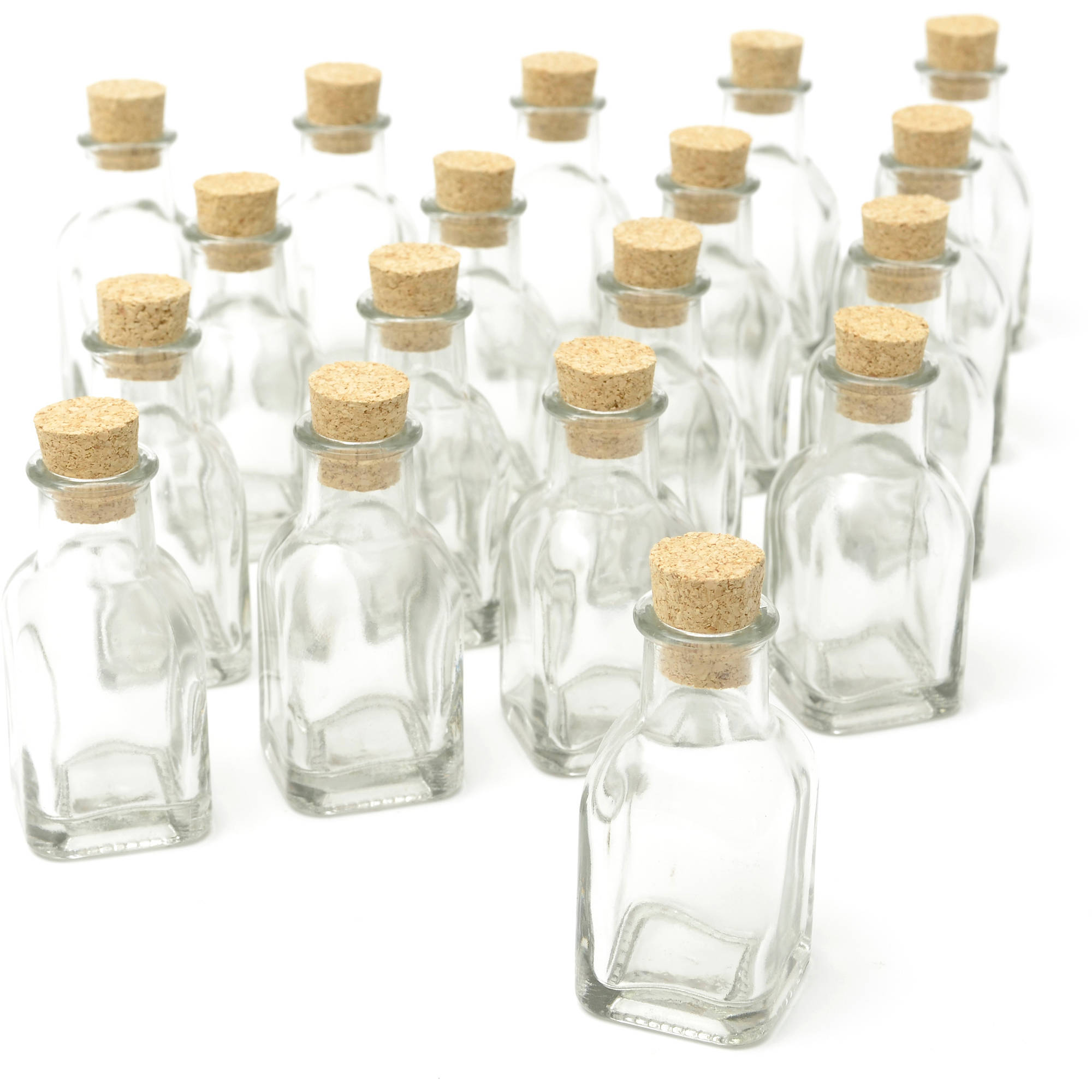 Gartner Studios Cork Top Favor Jars, 18pk