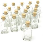 Gartner Studios Glass Cork Top Wedding Favor Jars, 18pk