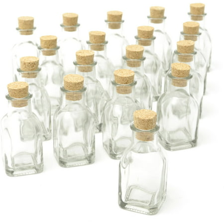 Gartner Studios Cork Top Favor Jars, 18pk - Diy Glow Jars