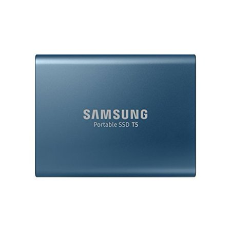 Samsung Portable SSD T5 MU-PA250 - Solid state drive - encrypted - 250 GB - external (portable) - USB 3.1 Gen 2 (USB-C connector) - 256-bit AES - for Chromebook Pro XE510C25I; Notebook 9 900X3TI, 900X5TI; 9 Pen NP930QAA; 9 Pro 940X3NI