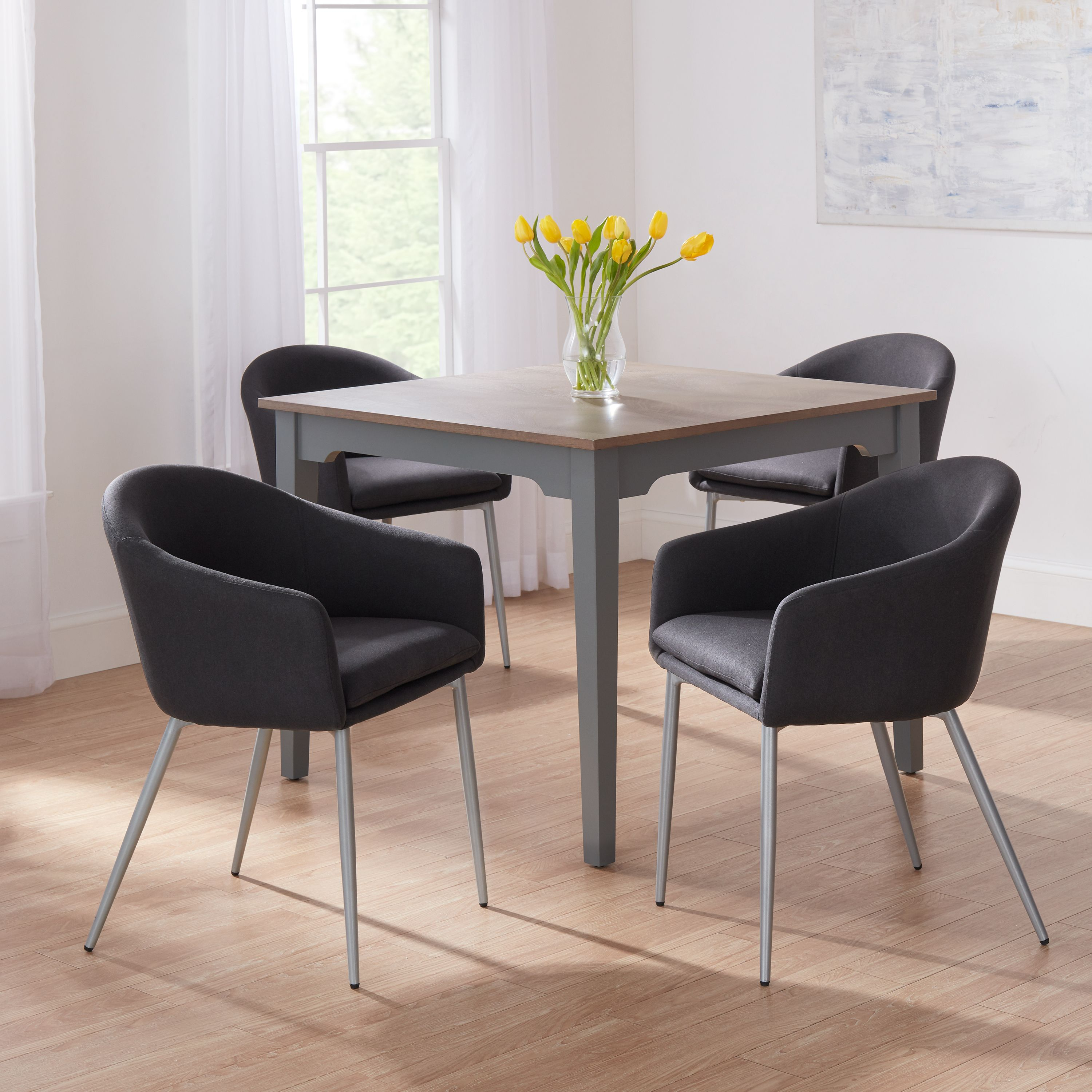 Better Homes & Gardens Eve Dining Chair, Set of 4, Multiple