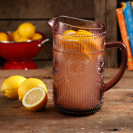 (The Pioneer Woman Adeline 1.59-Liter Glass Pitcher)