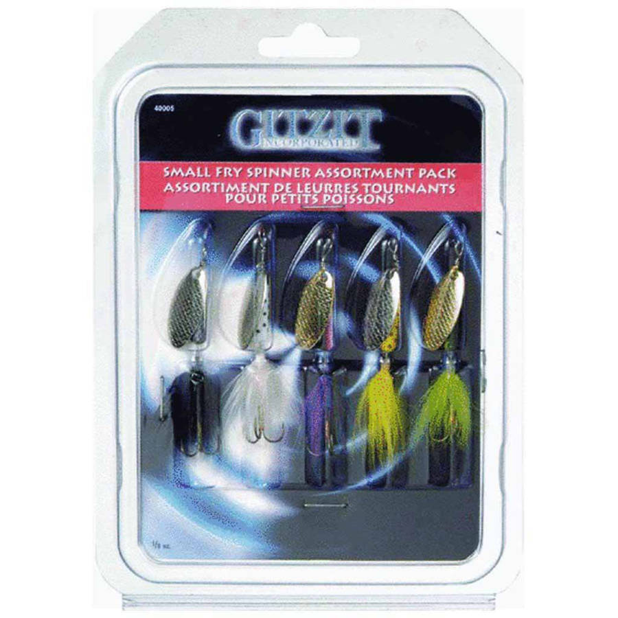 Gitzit Small Fry Spinner - 5 Pack