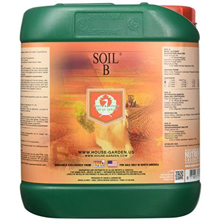 House & Garden Soil Nutrient A and B, 5 L (House And Garden Soil A And B Reviews)