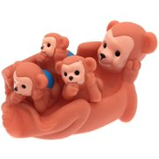 Floating Bath Tub Toy Playmaker Toys Rubber Bear Family Bathtub Pals Set of 4