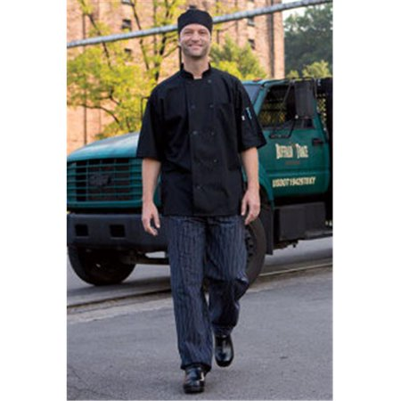 Vtex 0421-2510 Delray Chef Coat with Mesh Ss 5.25 Wht 6Xl - image 1 of 1