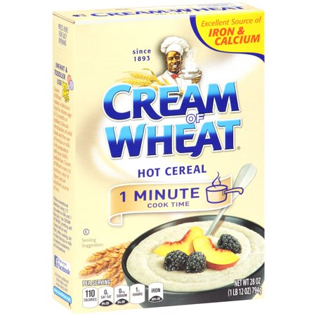 (3 Pack) Cream Of Wheat 1 Minute Hot Cereal, Orignal, 28