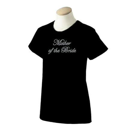 Mother of The Bride Rhinestone T-shirt for Ladies