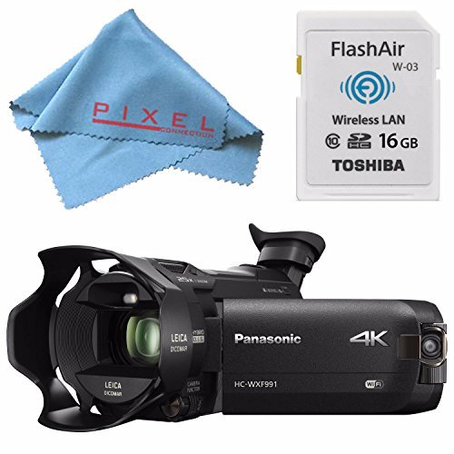 Panasonic HC-WXF991 HC-WXF991K 4K Ultra HD Camcorder with...