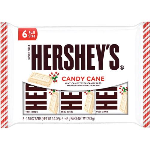 Hershey's Candy Cane Bars 6pk
