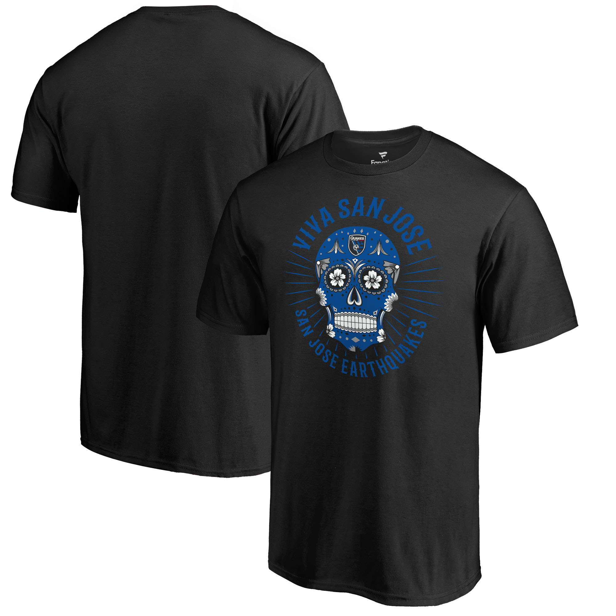 San Jose Earthquakes Fanatics Branded Hispanic Heritage Viva T-Shirt T-Shirt - Black