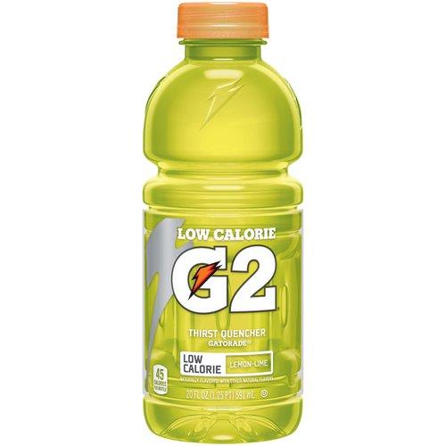 Gatorade G2 Low Calorie Lemon-Lime Thirst Quencher Sports Drink, 20 fl oz