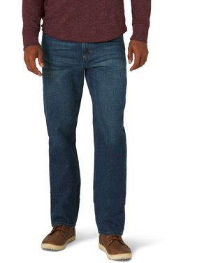 Wrangler Men's and Big Men's 5 Star Relaxed Fit Jean with Flex