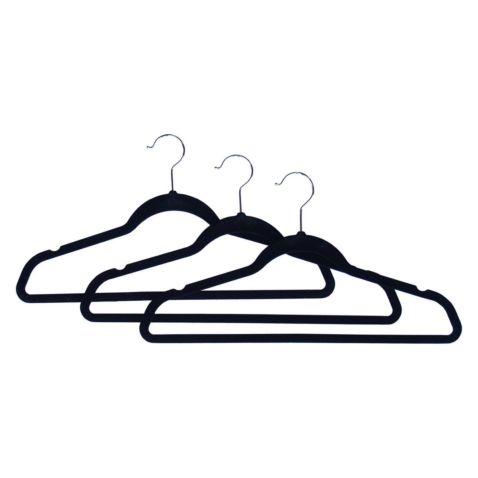 Proman Velvet Plastic Huggable Suit Hanger - 50 Pieces