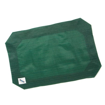 Coolaroo Elevated Pet Bed - Coolaroo Elevated Pet Bed Replacement Cover; Large; Brunswick Green