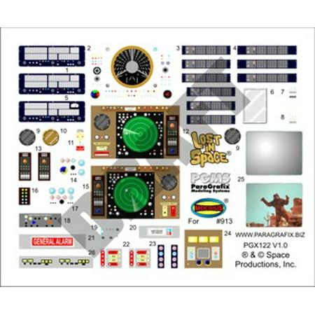 1/35 LiS: Jupiter 2 Spaceship Stock Interior Decal Set for (Magpul Pts Moe Stock)