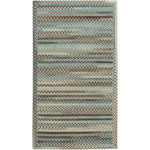 Capel Kill Devil Hill 0210XS Braided Rug - Tan Hues