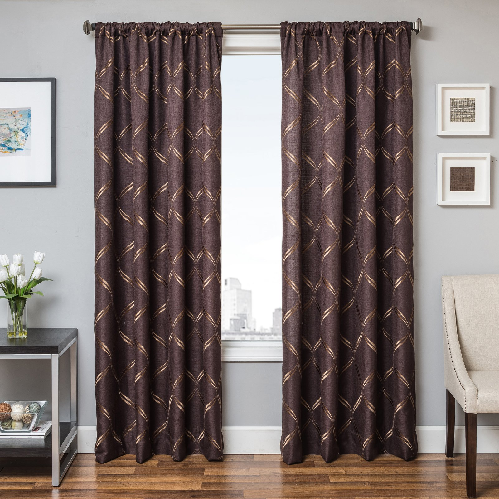 Jacque Rod Pocket Curtain