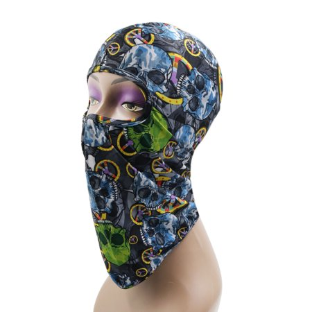 Outdoor Sports Cycling Balaclava Full Face Mask Neck Cover Protective Hood #8