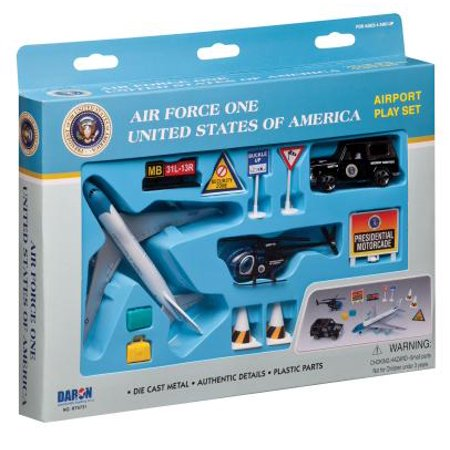 Air Force One United States of America Airport Playset - Boys Air Forces