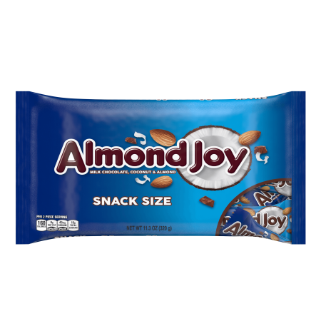 Almond Joy Snack Size Milk Chocolate Coconut & Almond Candy, 11.3 Oz.](After Halloween Candy Sale)