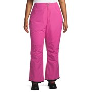 Iceburg Women's Plus Size Insulated Pull-on Ski Pants