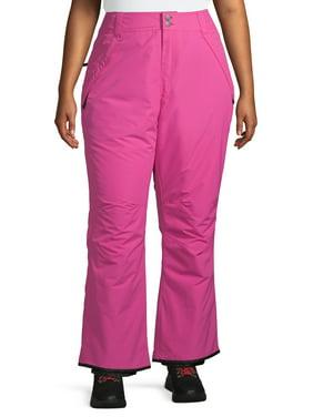 Iceburg Women's Plus Insulated Pull-on Ski Pants
