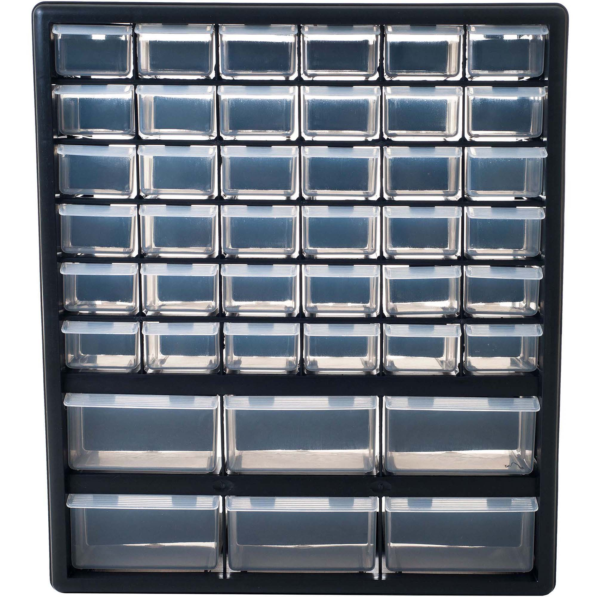 Stalwart Deluxe 42 Drawer Compartment Storage Tool Box