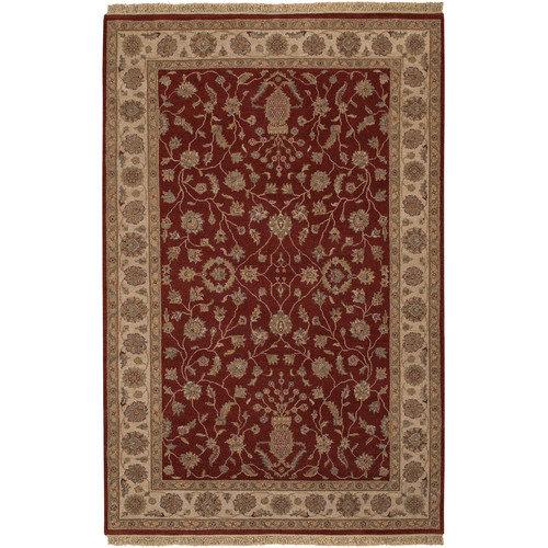 Couristan Jangali Kerman Vase Red/Ivory Oriental Rug