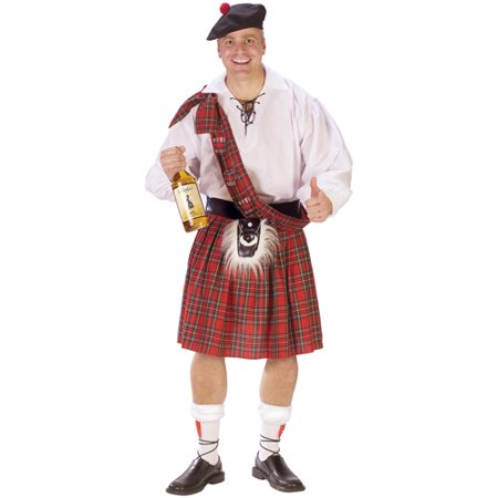 Big Shot Scot Adult Halloween Costume