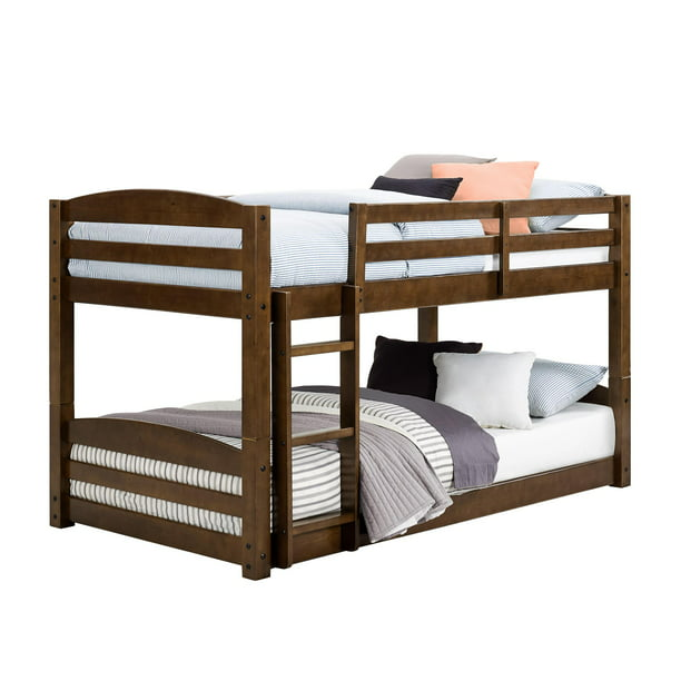 Better Homes and Gardens Tristan Twin Bunk Bed, Mocha