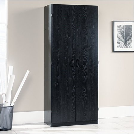 Pemberly Row Storage Cabinet in Ebony Ash (Napoli Wardrobe Cabinet)
