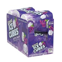 Ice Breakers, Ice Cubes Arctic Grape Gum, 3.24 Oz, 6 Ct