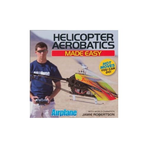 Model Airplane News DVD24 Helicopter Aerobatics Made Easy Multi-Colored