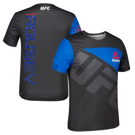 Ronda Rousey UFC Reebok Black Royal Official Fight Kit Walkout Jersey Men's
